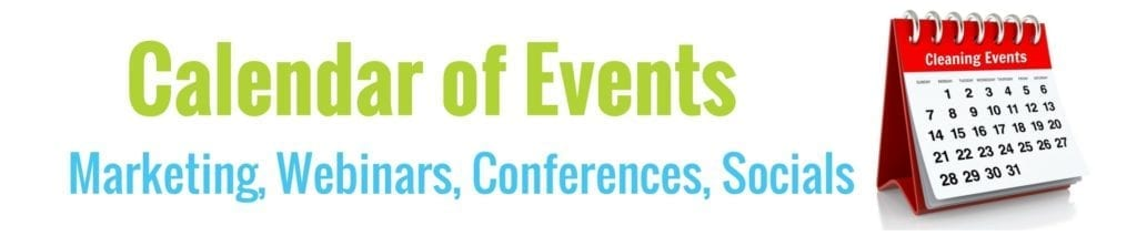 Cleaning Events, MyCleaningConnection