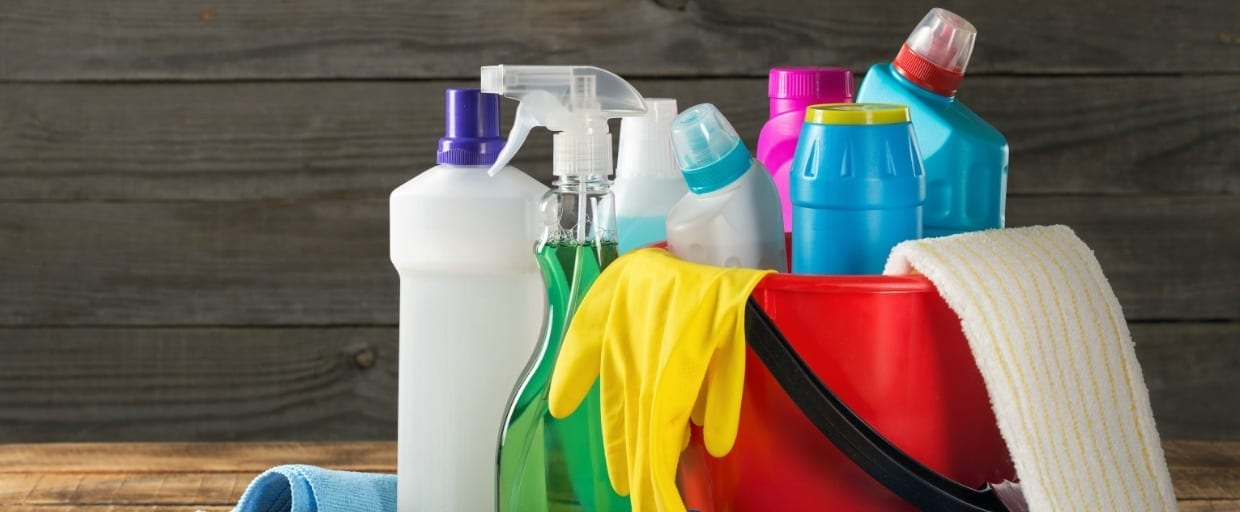Cleaning Products Slider