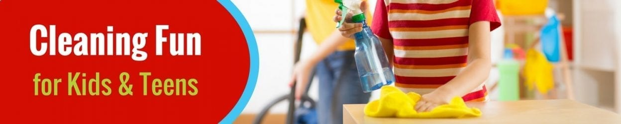 Cleaning Fun for kids and teens, Savvy Cleaner