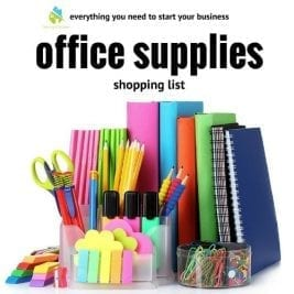 Office Supplies Shopping List Savvy Cleaner, My Cleaning Connection