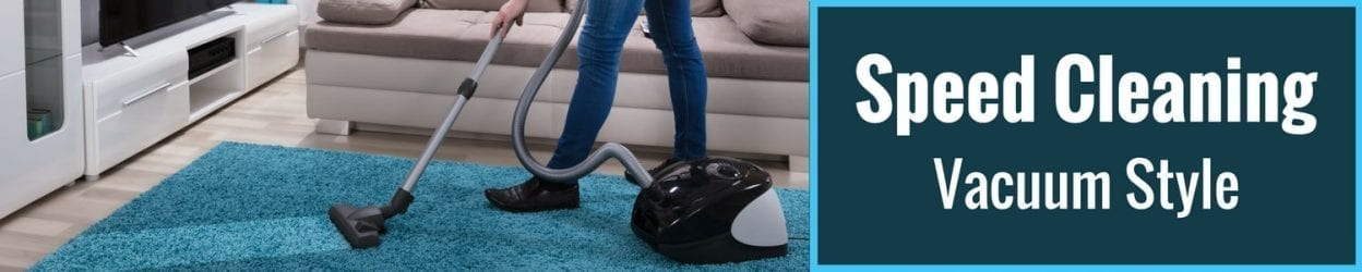 Speed Cleaning Vacuum Style Page Banner