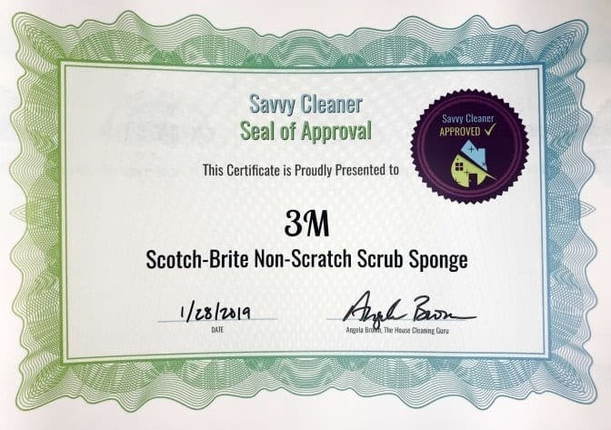3m - Scotch-Brite, Non-Scratch, Scrub Sponge, Savvy Cleaner Approved