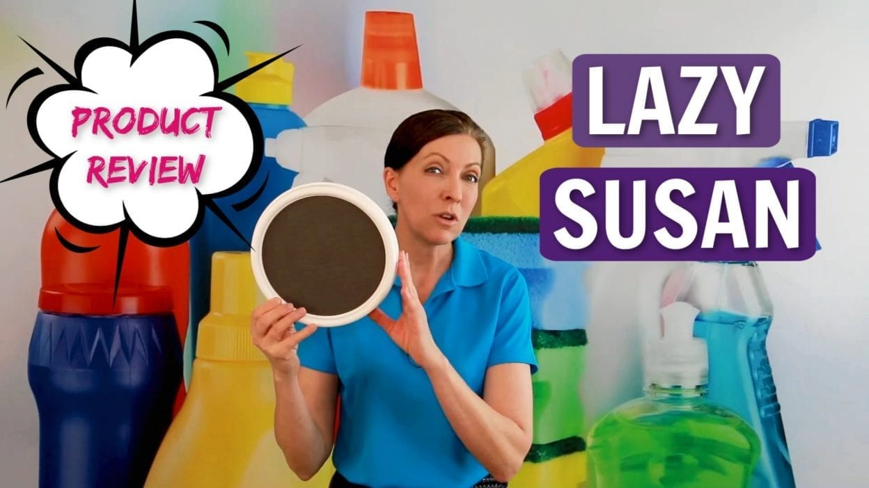 Ask a House Cleaner Lazy Susan Product Review, Savvy Cleaner