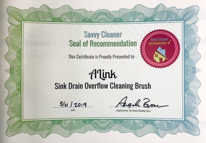 ALink Drain Brush, Angela Brown's Top 10 Scrub Brushes, Savvy Cleaner Recommended