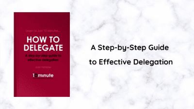 Angela Brown's Top 10 Books 2020, How to Delegate - Joan Henshaw