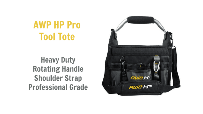 Angela Browns Top 10 Cleaning Caddies, AWP HP Pro Tool Tote