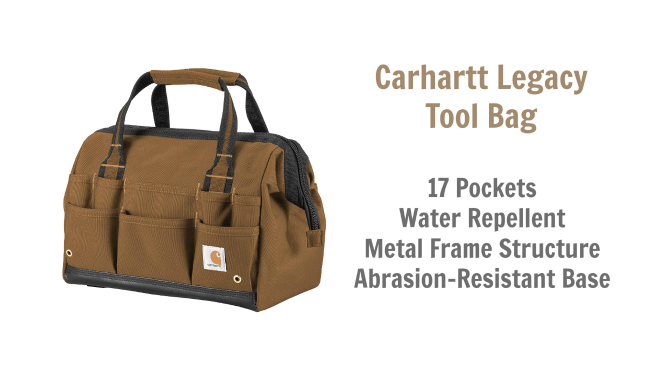 Angela Browns Top 10 Cleaning Caddies, Carhartt Legacy Tool Bag