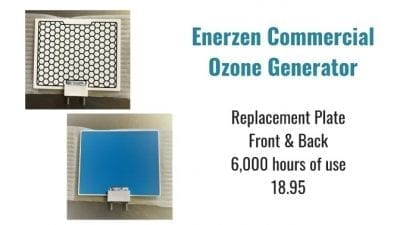 Angela Brown's Top 10 Odor Removal Machines, Enerzen Commercial Ozone Generator Replacement plates