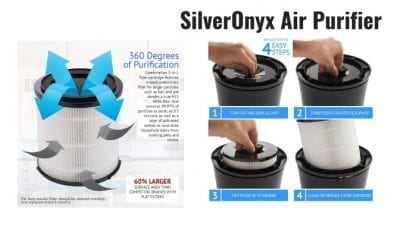 Angela Brown's Top 10 Odor Removal Machines SilverOnyx Air Purification Filtration System