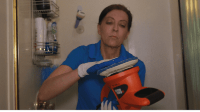 Brite and Clean Ultimate Hard Water Stain Remover Protective Gloves Get Rid of Hard Water Stains