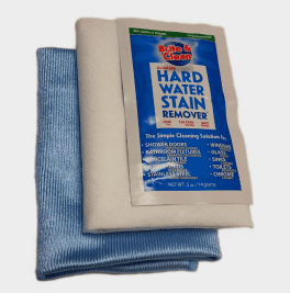 Brite and Clean Ultimate Hard Water Stain Remover Shower Cleaning Kits Get Rid of Hard Water Stains