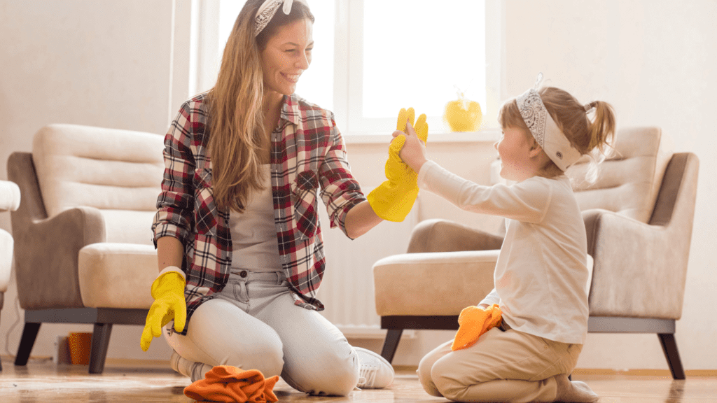 Can Young Kids Have Chores, My Cleaning Connection