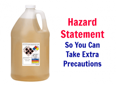Cleaning Bottle Secrets Revealed Hazard Statement So You Can Take Extra Precautions