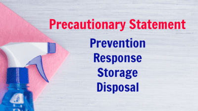 Cleaning Bottle Secrets Revealed Precautionary Statement, Prevention Response Storage Disposal
