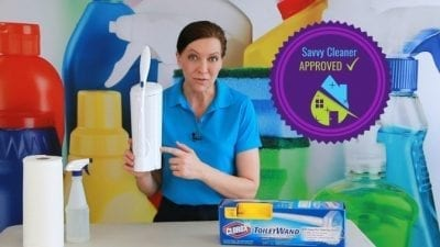 Clorox ToiletWand, Savvy Cleaner Seal of Approval