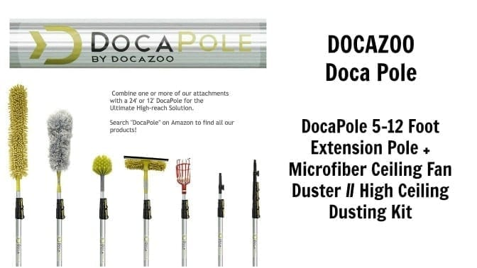 Docazoo Doca Pole 5-12 feet, Angela Brown's Top 10 Dusters