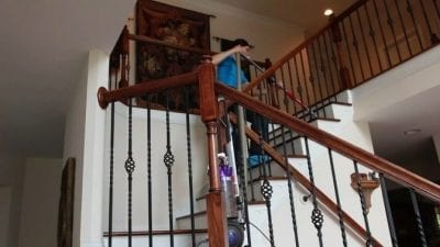 Dyson Animal Ball Vacuum Product Review Stairway Attachment