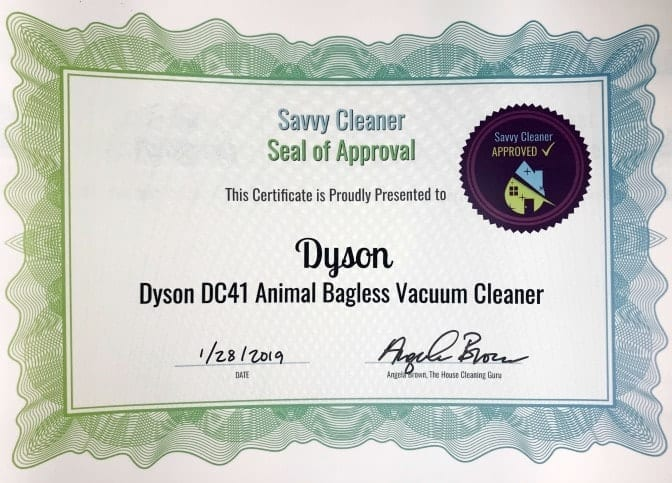 Dyson, Dyson DC41 Animal Ball Vacuum, Savvy Cleaner Approved