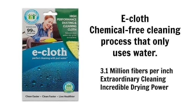E-Cloth, Chemical free cleaning - Angela Brown's Top 10 Dusters