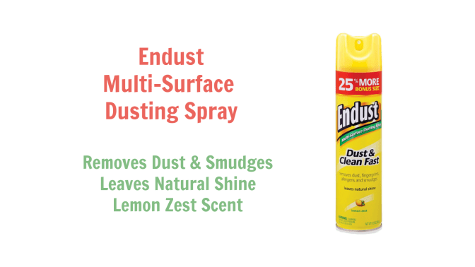 Endust Multi-Surface Dusting Spray, Angela Brown Top 10 Furniture Polish