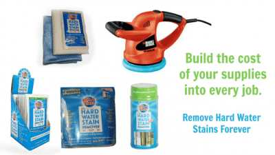 Hard Water Stain Remover Kit Get Rid of Hard Water Stains