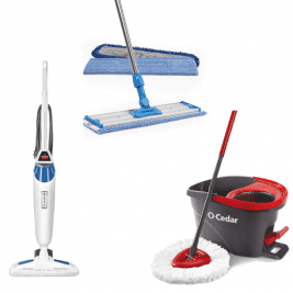 Hardwood Floor Mops Products for House Cleaners