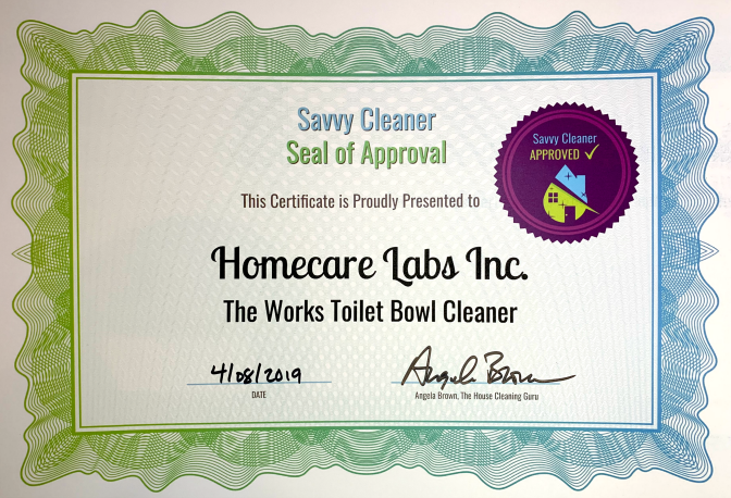 Homecare Labs, Inc. The Works Toilet Bowl Cleaner