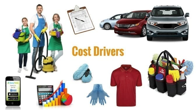 How to Bid a Cleaning Job Compass Wave Cost Drivers