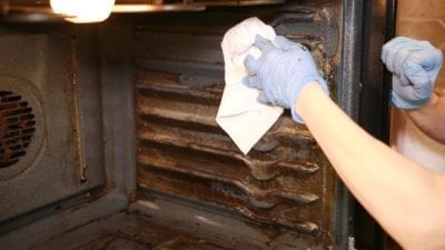How to Clean an Oven Fast, Easy Off, Cleaning Walls with Paper Towels