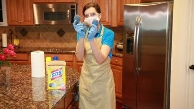 How to Clean an Oven Fast, Easy Off, SOS Pads