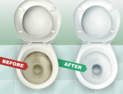 How to Create Your Own Images and Ads, Before and After Toilet