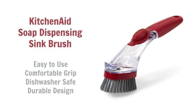 KitchenAid Soap Dispensing Sink Brush, Angela Brown's Top 10 Scrub Brushes