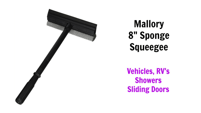 Mallory 8 sponge squeegee, Angela Brown's Top 10 Squeegees