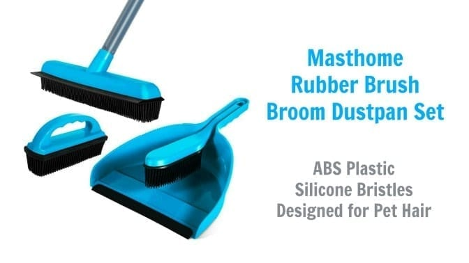 Masthome Rubber Brush Broom Dustpan Set, Angela Brown's Top 10 Scrub Brushes