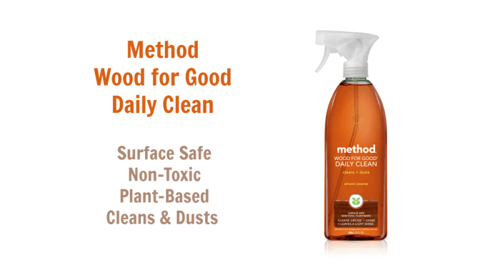 Method Wood for Good Daily Clean, Angela Brown's Top 10 Furniture Polish