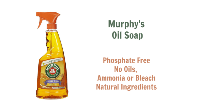 Murphys Oil Soap, Angela Browns Top 10 Furniture Polish