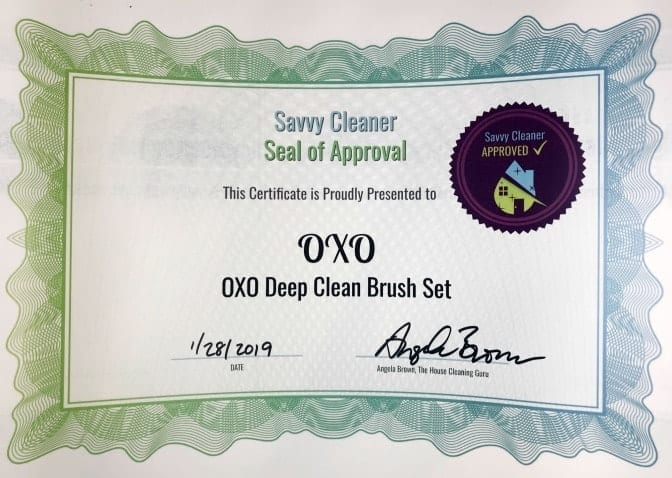 OXO, OXO Deep Clean Brush Set, Savvy Cleaner Approved