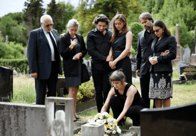 Password Vault for House Cleaners, Family Funeral