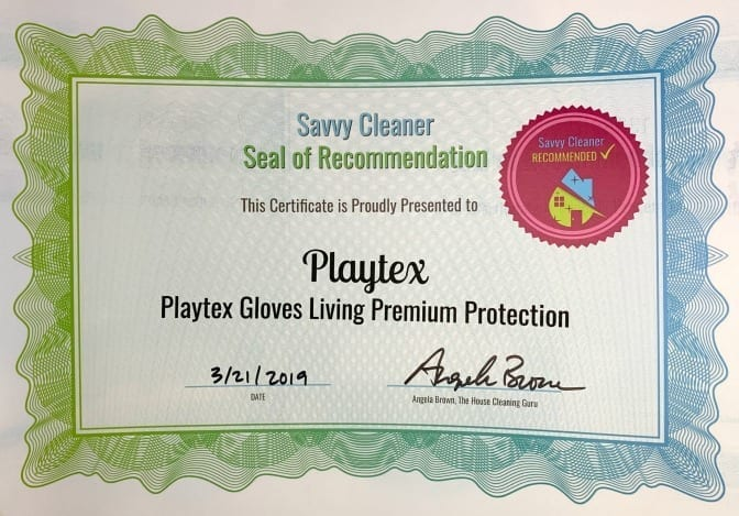 Playtex, Playtex Gloves Living Premium Protection, Savvy Cleaner Recommended