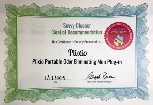 Plixio, Plixio Portable Odor Eliminating Mini Plug in, Savvy Cleaner Recommended