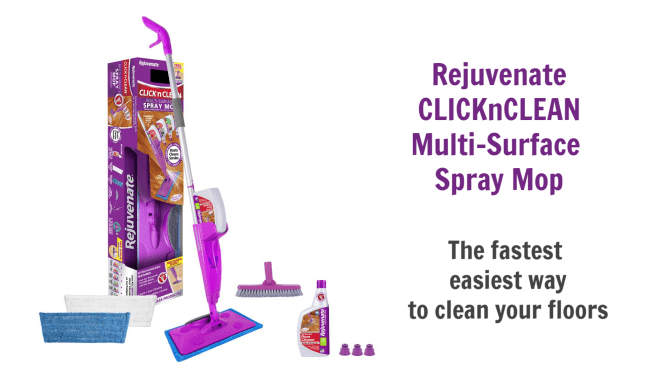 Rejuvenate ClicknClean Multi-Surface Spray Mop, Angela Brown's Top 10 Mops
