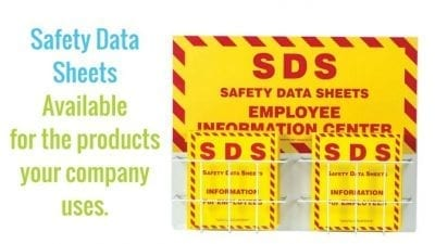 Remove Tarnish and Polish Silver Safety Data Sheets Holder