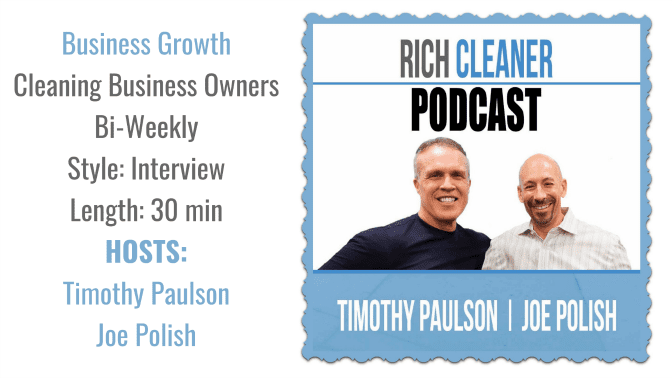 Rich Cleaner Podcast, Angela Brown's Top 10 Podcasts, Savvy Cleaner Recommended