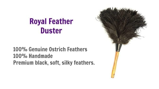 Royal Feather Duster, GM Royal Ostrich Feather Duster, Angela Brown's Top 10 Dusters