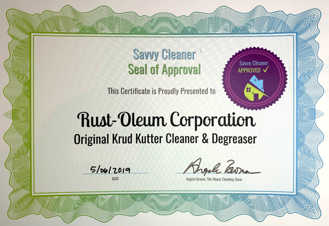 Rust-Oleum, Original Krud Kutter Cleaner Degreaser, Savvy Cleaner Approved