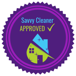 Savvy Cleaner Approved 500 x 500