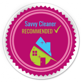 Savvy Cleaner Recommended Button 500 x 500