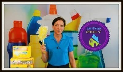 Savvy Cleaner Seal of Approval - Swiffer Duster 360 Product Review