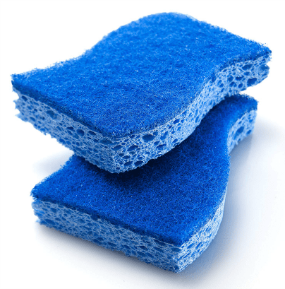 Scotch Brite Non-Scratch Scrub Sponge, two sponges, Angela Brown's Top 10 Sponges