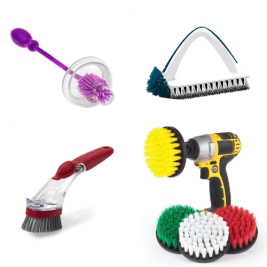 Scrub Brushes Products for House Cleaners
